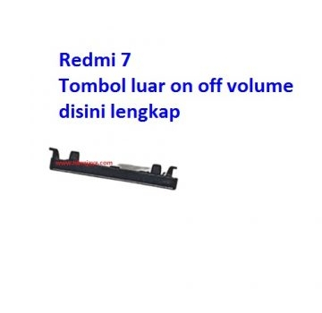 Jual Tombol luar on off volume Redmi 7