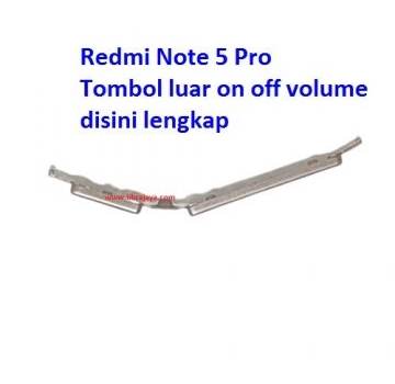 Jual Tombol on off volume Redmi Note 5 Pro