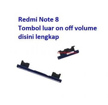 Jual Tombol on off volume Redmi Note 8