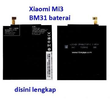 Jual Baterai Xiaomi Mi3 BM31