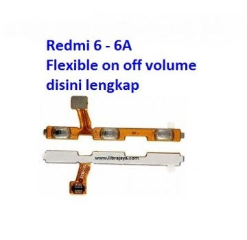 Jual Flexible on off Volume Redmi 6