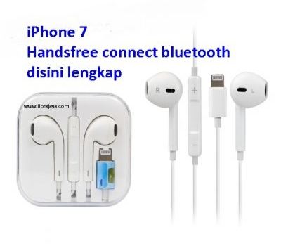 Jual Handsfree iPhone 7 Connect bluetooth