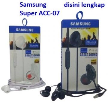 Jual Handsfree Samsung acc-07