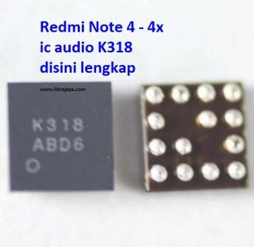 Jual Ic Audio K318 Redmi 4