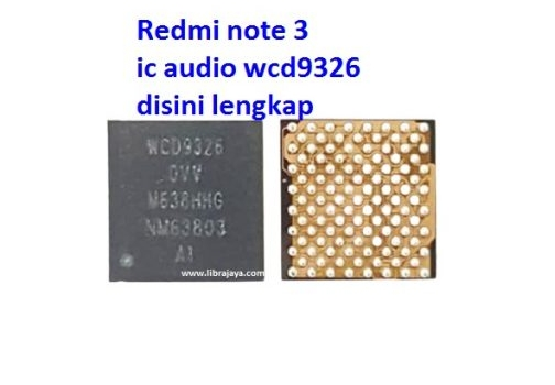 Jual Ic Audio WCD9326 Redmi Note 3