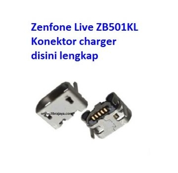 Jual Konektor charger Zenfone live ZB501KL