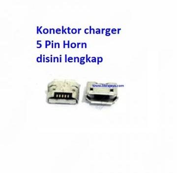 Jual Konektor charger 5 pin horn Samsung I9500