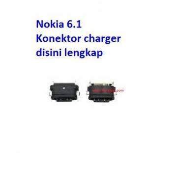 Jual Konektor charger nokia 6.1