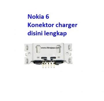 Jual Konektor charger Nokia 6
