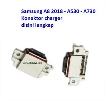 Jual Konektor charger Samsung A8 2018