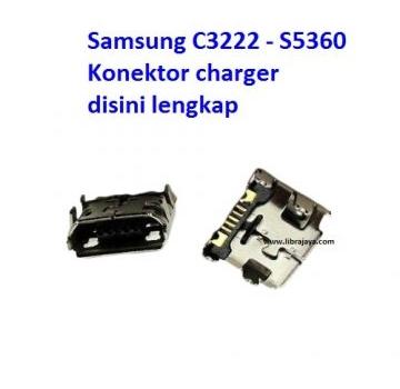 Jual Konektor charger Samsung C3222