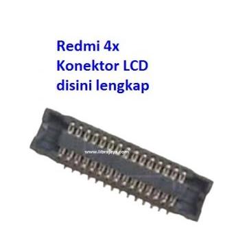 Jual Konektor lcd Redmi 4x