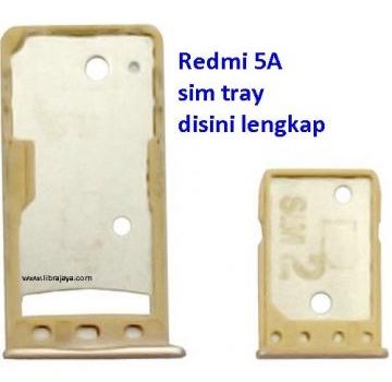 Jual Sim tray Redmi 5a dual sim