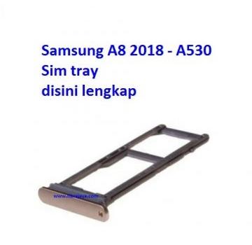 Jual Sim tray Samsung A8 2018