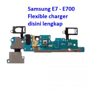 Jual Flexible charger Samsung E7