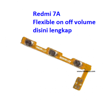 Jual Flexible on off volume Redmi 7a