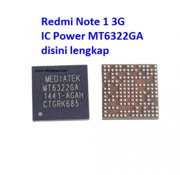 Jual Ic Power mt6322ga Redmi Note 1 3G