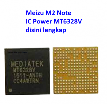 Jual IC Power mt6328v Meizu M2 Note