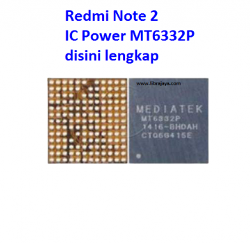 Jual Ic Power mt6332p Redmi Note 2