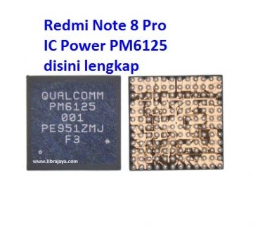 Jual Ic Power pm6125 Redmi Note 8 Pro