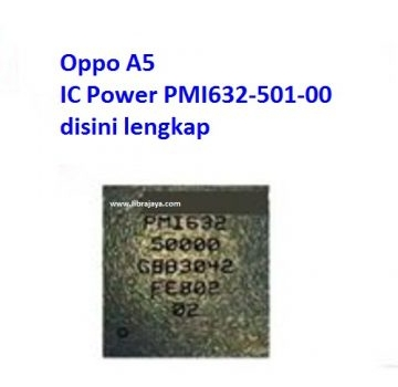 Jual Ic Power pmi632-501-00 Oppo A5