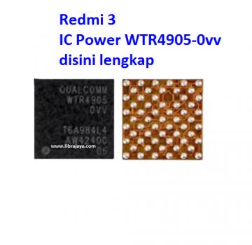 Jual Ic Power wtr4905-0vv Redmi 3