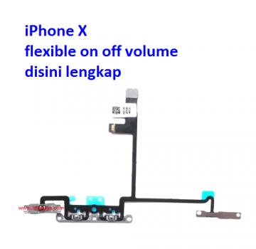 Jual Flexible volume iPhone X