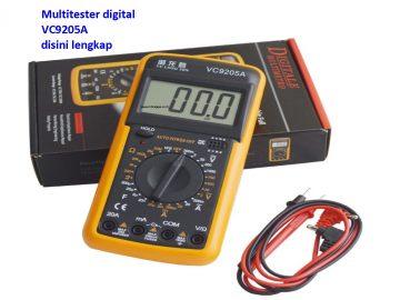 Jual Multitester digital VC9205A