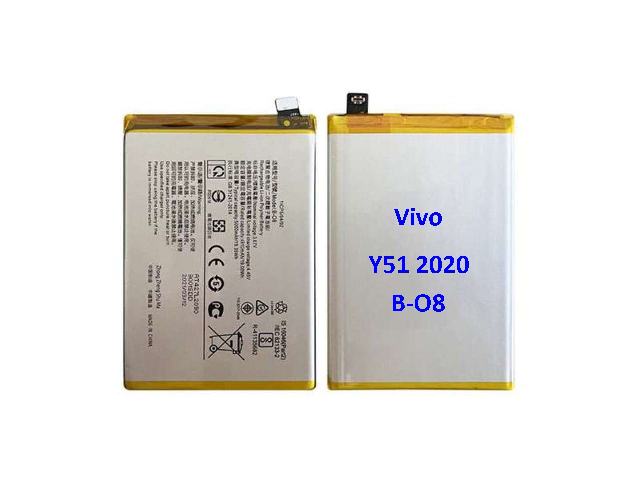 BATRE VIVO Y51 2020 Y52S B-O8